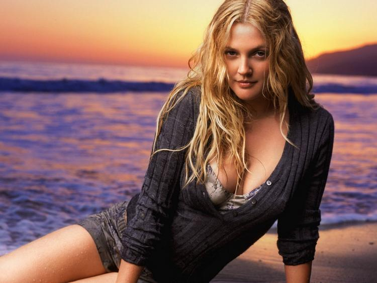 Drew Barrymore beauty still