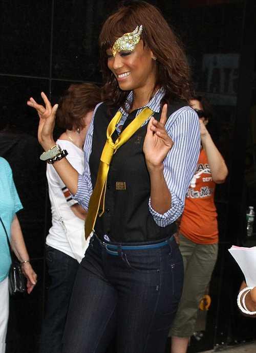 Tyra Banks made an appearance