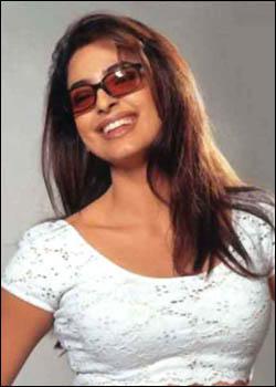 Juhi Chawla open smile
