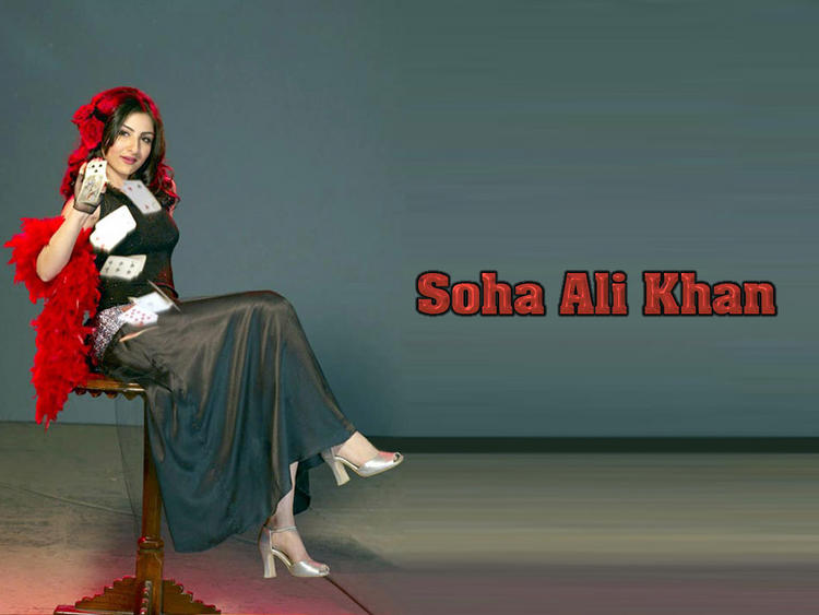 Beautiful Soha Ali Khan latest wallpaper