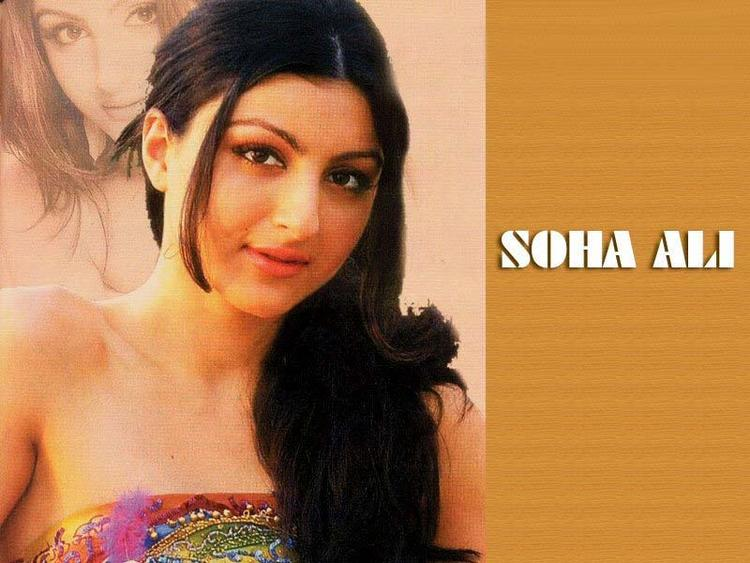 Soha ali khan sleeveless dress wallpaper