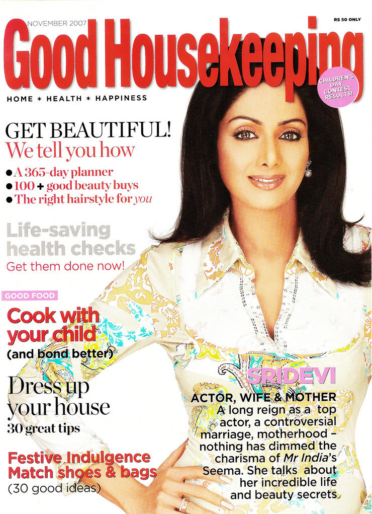 Sridevi Kapoor Good Housekeeping wallpaper