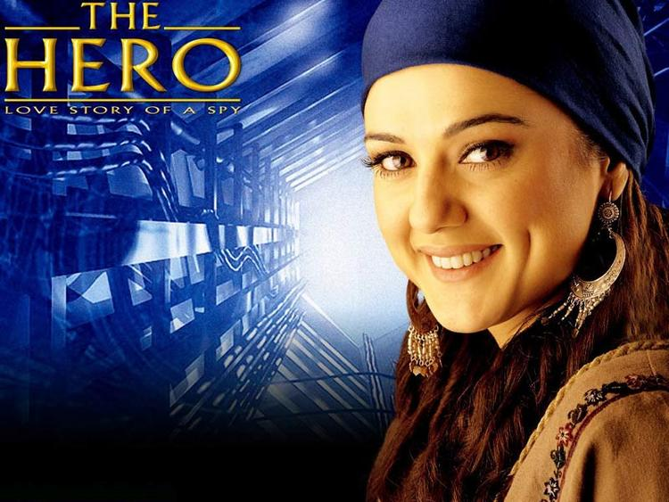 Preity Zinta in The Hero wallpaper