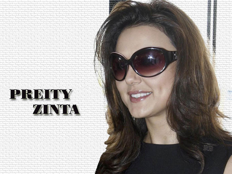 Preity Zinta stylist look wearing goggles