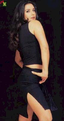 Preity Zinta mini dress spicy wallpaper