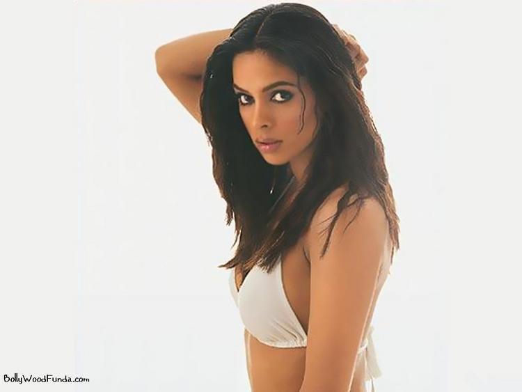 Mallika Sherawat bikini hot wallpaper
