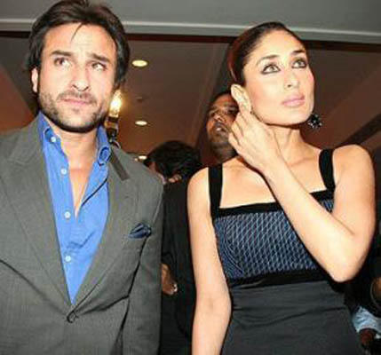 saif ali khan and kareena kapoor glamour still
