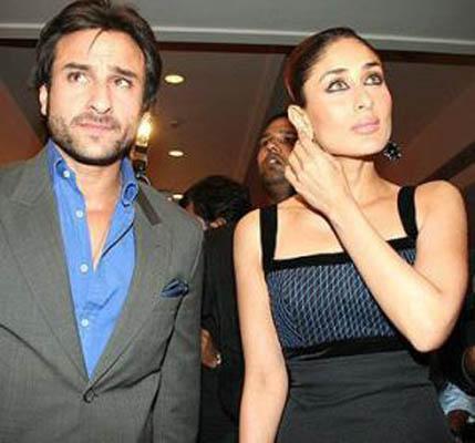 saif ali khan and kareena kapoor glamour still