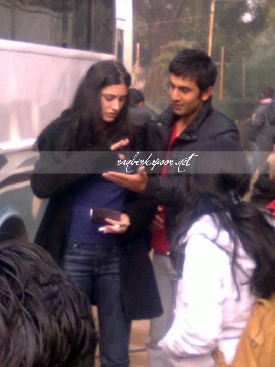 Nargis Fakhri and ranbir in Rockstar