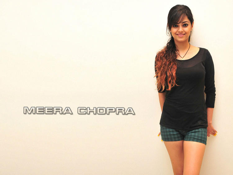 Meera Chopra mini dress sexy wallpaper