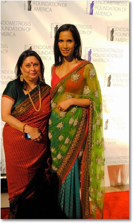 Hot Babe Padma lakshmi in saree
