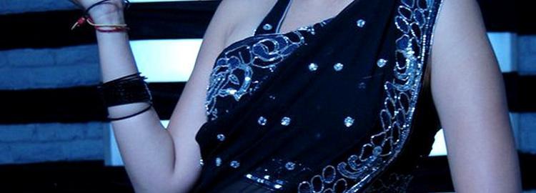 Lakshmi rai sexy black saree still