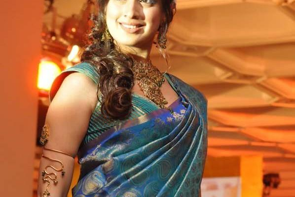 Lakshmi rai traditional saree beauty still
