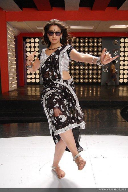 Lakshmi Rai latest hot saree still