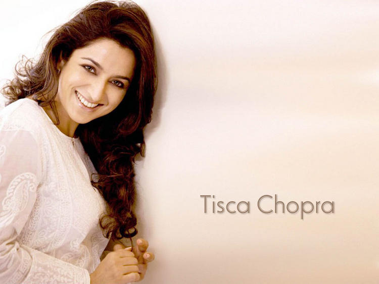 Tisca Chopra sweet smile wallpaper