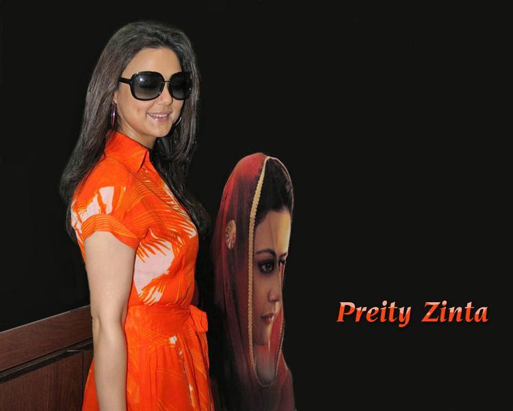Dimpled beauty Preity Zinta wallpaper