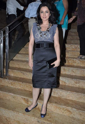 Tisca Chopra at Lakme Fashion Week