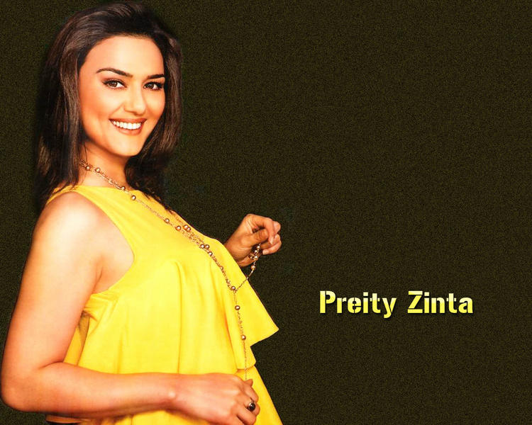 Bollywood Queen Preity Zinta wallpaper