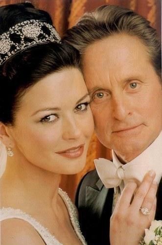 Catherine Zeta Jones and husband Michael Douglas