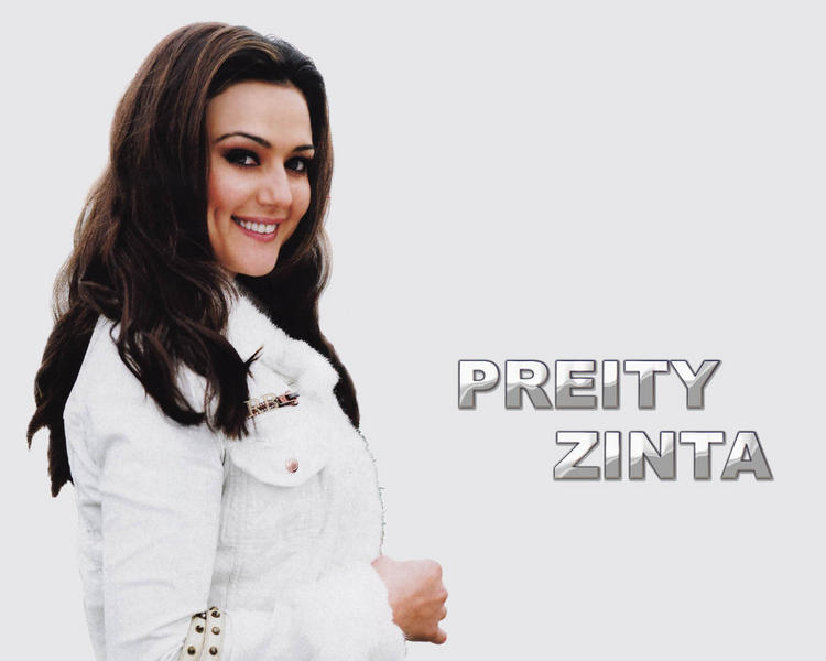 Dimpled beauty of Preity Zinta