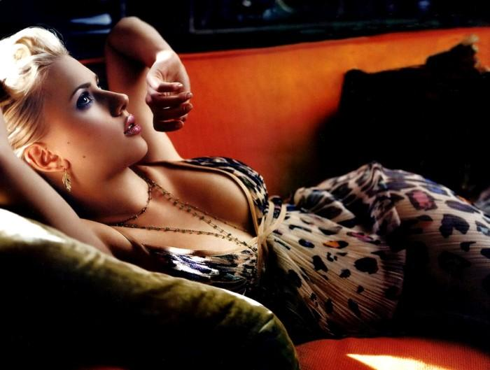 Scarlett Johansson spicy wallpaper