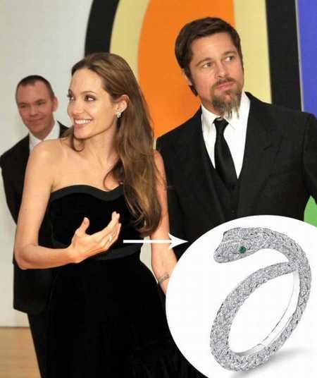 Angelina jolie brad pitt asprey jewelry photos