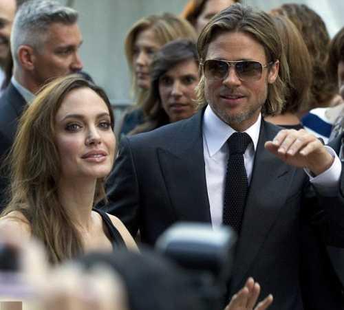 Brad Pitt and Angelina on International film festival