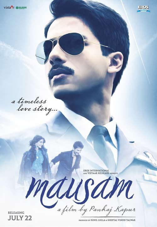 Shahid Kapoor Mausam Movie First Look
