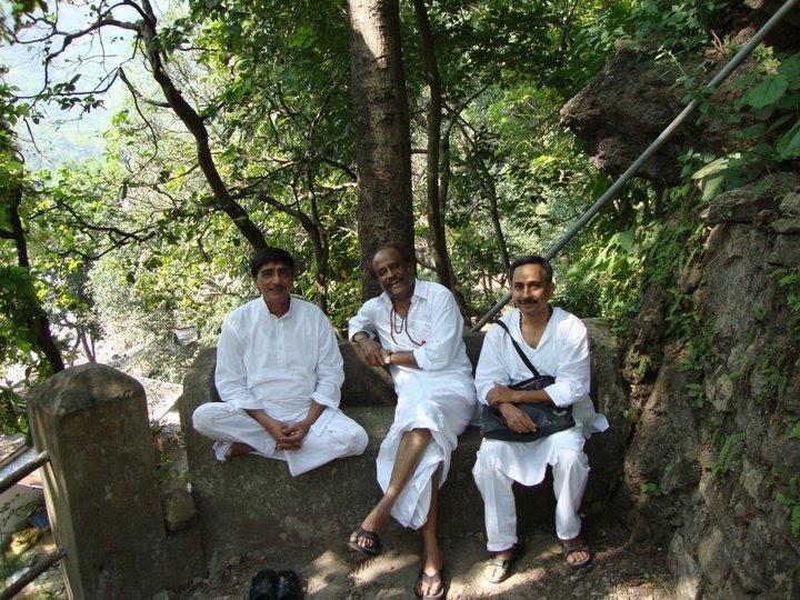 Endhiran Robo starrer Rajinikanths Himalayan trip pictures