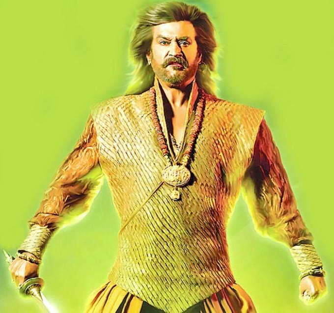 Superstar Rajinikanth Rana movie angry stills