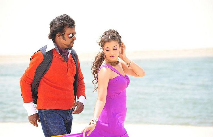 Rajinikanth Endhiran Tamil movie song still