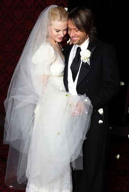 Nicole Kidman wedding photo