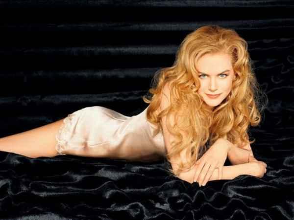Nicole Kidman spicy figure photo shoot