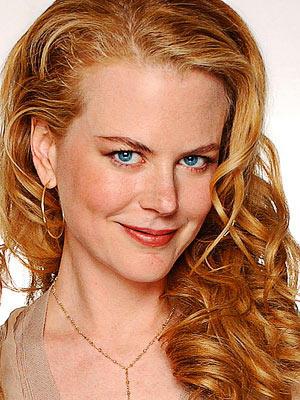 Nicole Kidman brown hair cute face pic