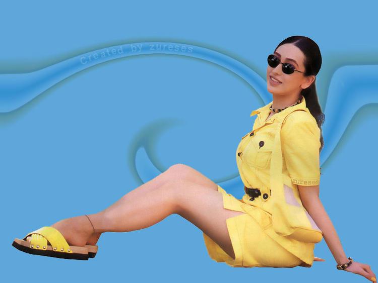 Karishma Kapoor in yellow