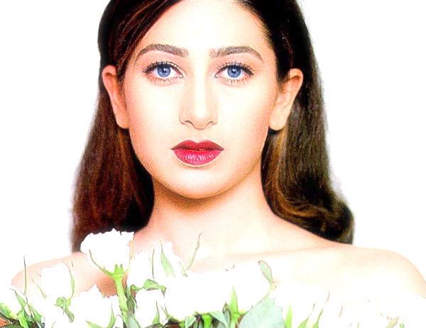 karishma Blue eyes look