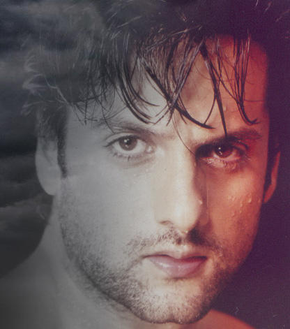 Fardeen Khan sexy face wallpaper