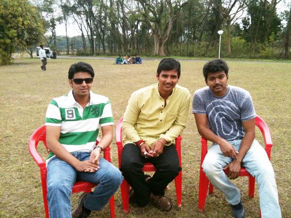 Vijay jeeva nanban movie shooting parts stills
