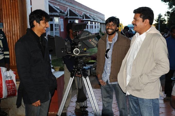 Shankar jeeva nanban movie shooting parts stills