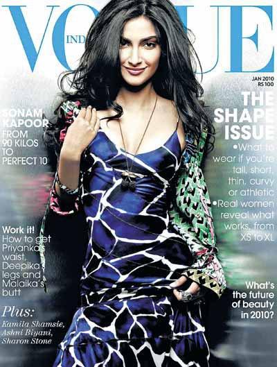 Sonam Kapoor in Vogue wallpaper