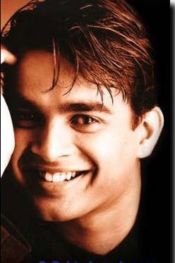 R. Madhavan with Open Smile