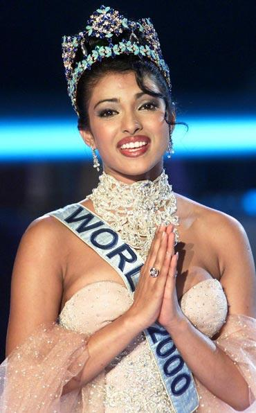 Miss World Priyanka Chopra images