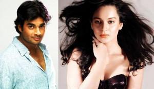 R. Madhavan and kangana ranaut face pics