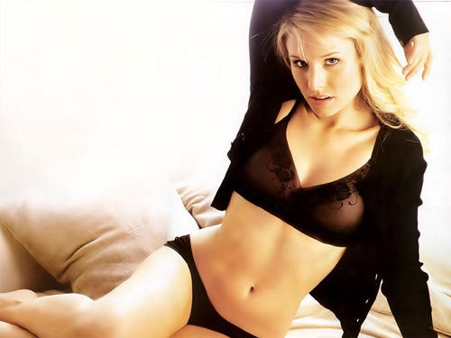 Kristen bell black hot bikini body dress pictures