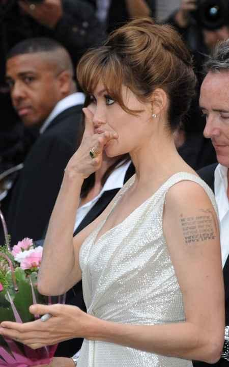 Angelina Jolie hairstyle pics
