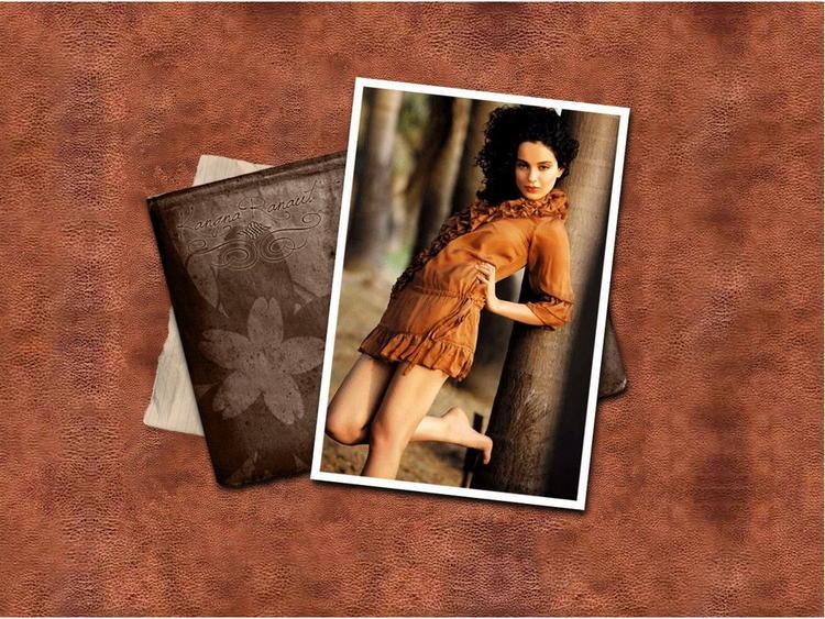 Hot and Spicy Actress Kangana Ranaut Wallpaper