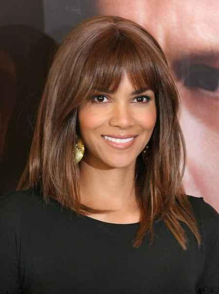 Halle Berry cute hairstyle photo