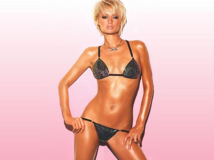Paris Hilton latest two piece glamour picture
