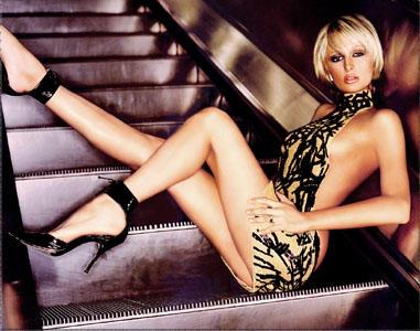 Paris hilton on top without dress photos