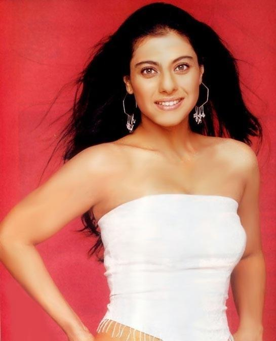 Kajol Devgan white sleeveless dress still